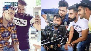 Ninja & Parmish Verma Live On Shooting Set - Behind The Scenes of Ninja Song - Celebrities Talks