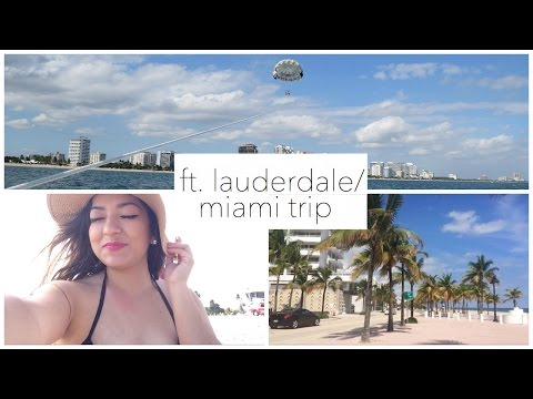 FT. LAUDERDALE/MIAMI VLOG ✈️⎜LIZZY TRAVELS