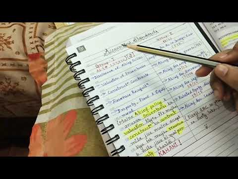 Memorise Accounting Standards in 3 minutes.