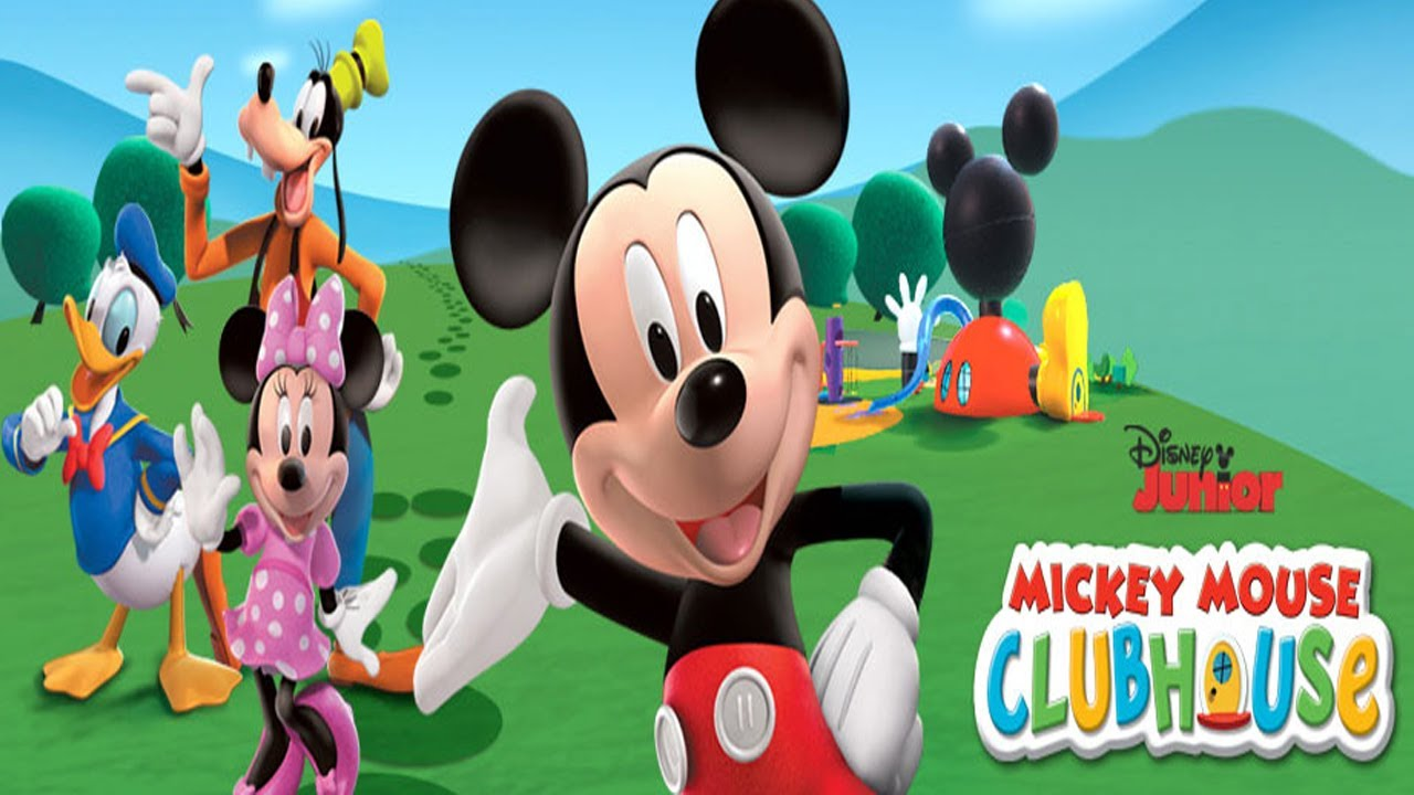 Mickey Mouse Disney Clubhouse 3D