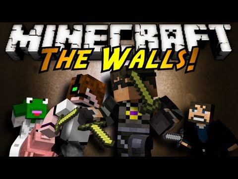 Minecraft Mini-Game : THE WALLS!