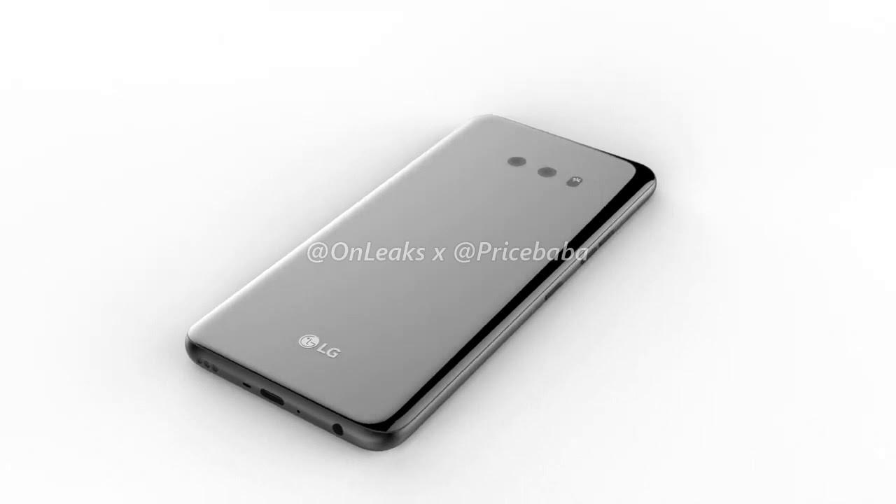 LG G8X 5K renders reveal waterdrop notch and dual rear cameras