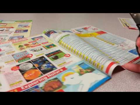 ASMR Browsing & Ordering Scholastic Books