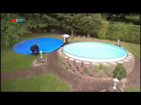 die aufblasbare pool abdeckung mdr einfach genial 13 09 2011 360p youtube. Black Bedroom Furniture Sets. Home Design Ideas