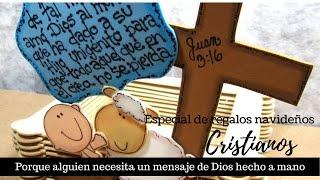 Regalos Navideños Cristianos, Juan 3:16