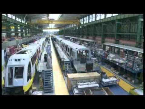 Fabrica de Trenes CAF para Metro de Caracas 10-10-2010