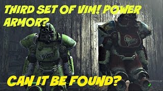 3 Sets Of Vim Power Armor? | Far harbor Fallout 4 |