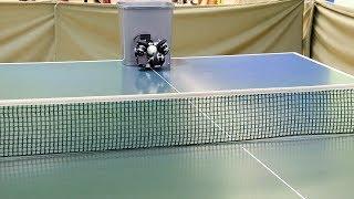 Tennirobo - table tennis robot. Робот/пушка/тренажер для настольного тенниса.
