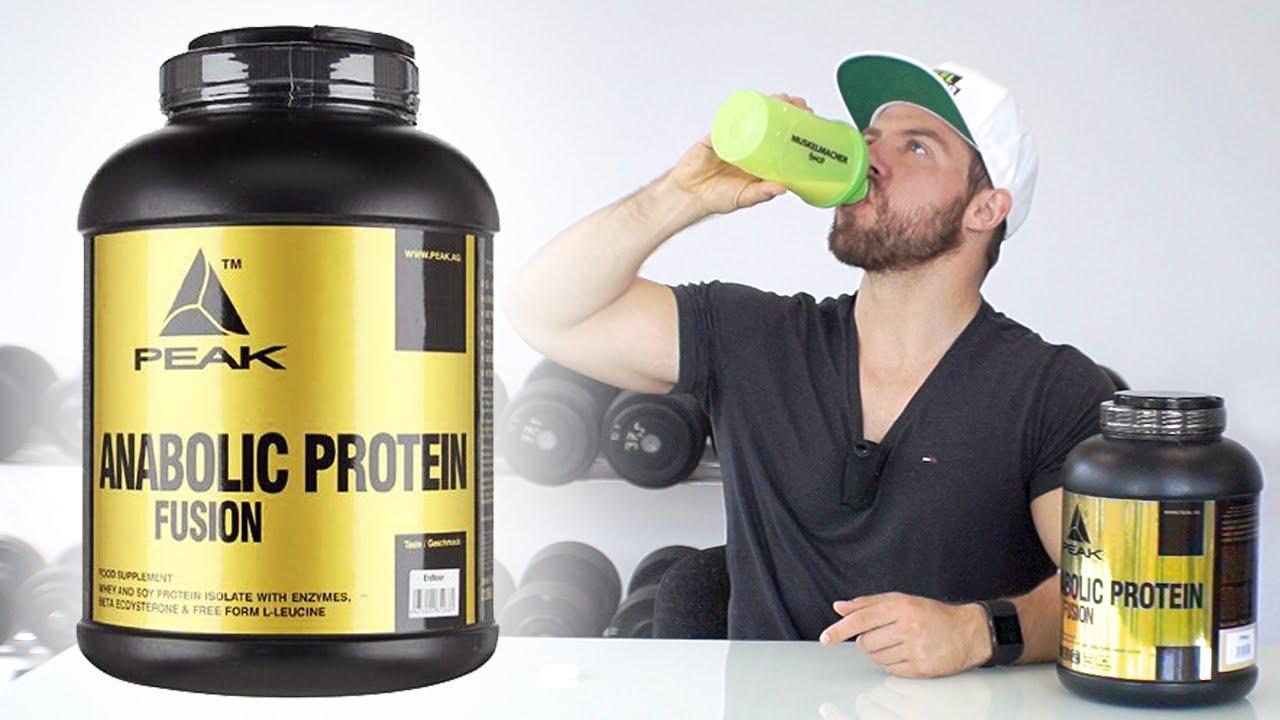 peak anabolic protein fusion vanille