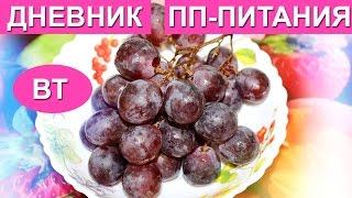 ХУДЕЕМ К НОВОМУ ГОДУ/Дневник ПП-питания-ВТ