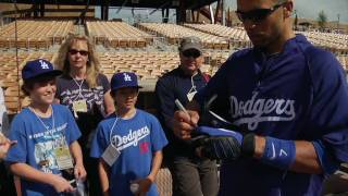 Becker Family - Winners of VIP Dodger Spring Training Experience