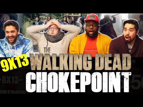 The Walking Dead - 9x13 Chokepoint - Group Reaction