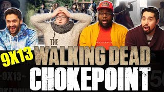 The Walking Dead   9x13 Chokepoint   Group Reaction