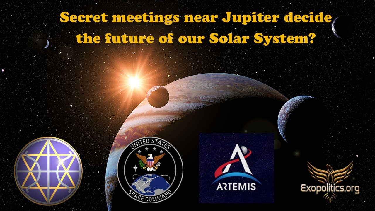Secret meetings near Jupiter decide the future of our Solar System?