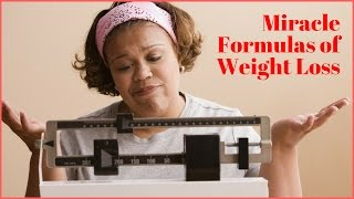 Weight Loss Miracle Formula