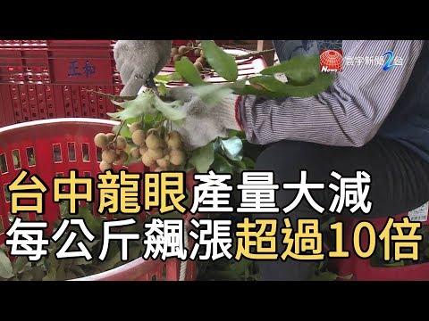 台中龍眼產量大減 每公斤單價飆漲超過10倍|寰宇新聞20190823