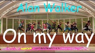 Zumba L On My Way ( Alan Walker) L Choreo By Winner(정소진) L With Eco People & Zin Member