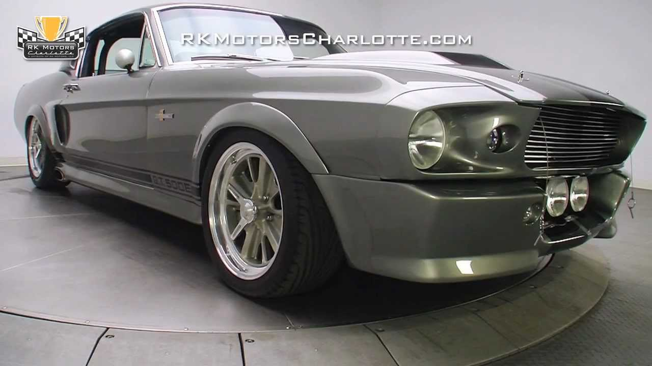 132879 1967 ford mustang eleanor gt youtube