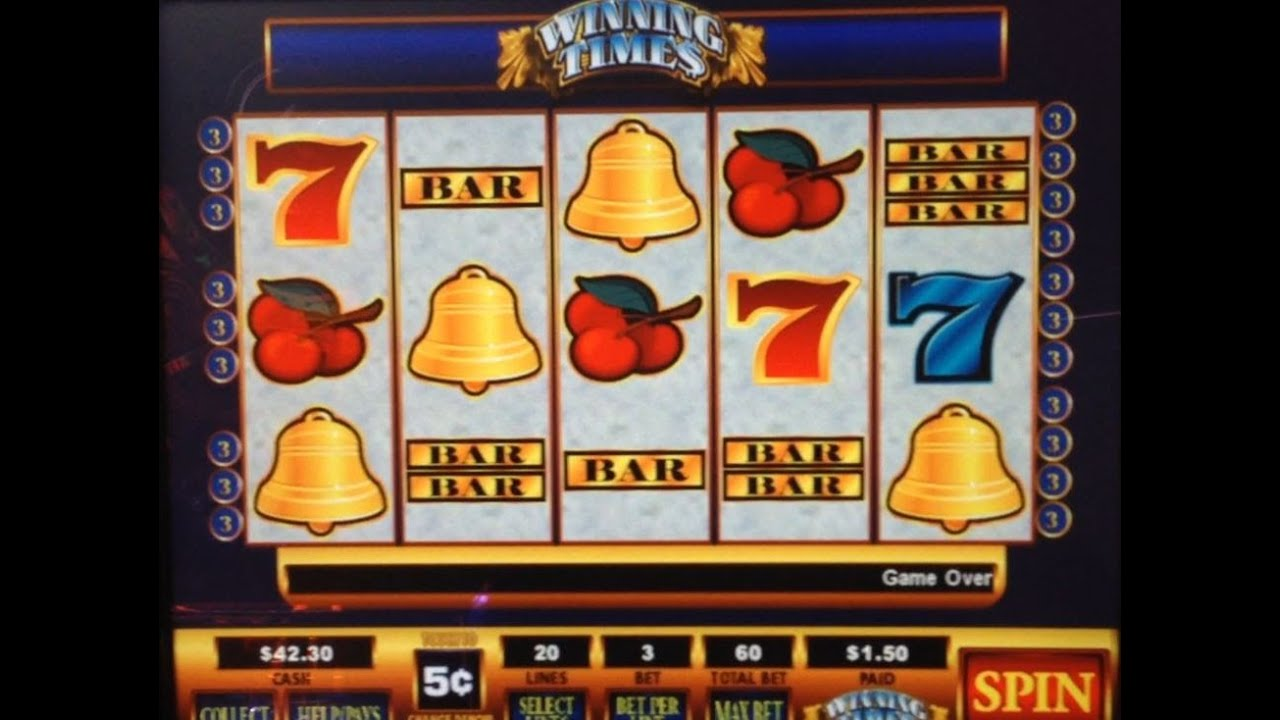 Winning times slot machines caliente casino real