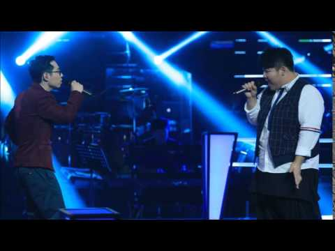 中國好聲音 第四季 - 第八期 2015-09-06 李安 + 江源東 - 剪愛+ Hero 無雜音版