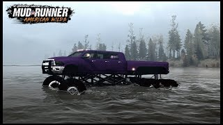 SHE HATED THE 6X6 DODGE RAM - Spintires: MudRunner