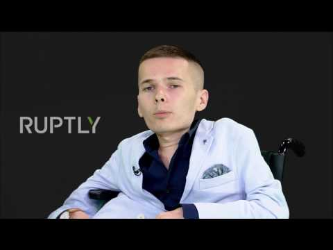 Russia: Paralysed man jailed for armed robbery gives first interview upon release *EXCLUSIVE*