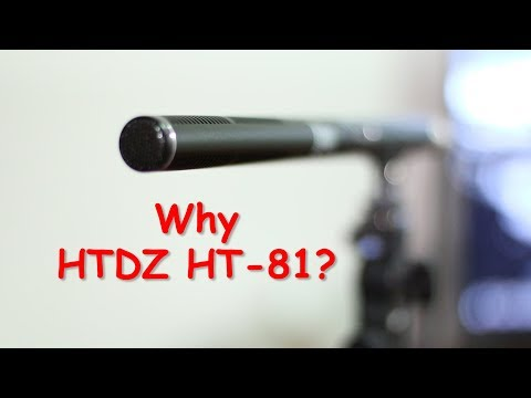HTDZ HT81 microphone review - Film Production Mic!