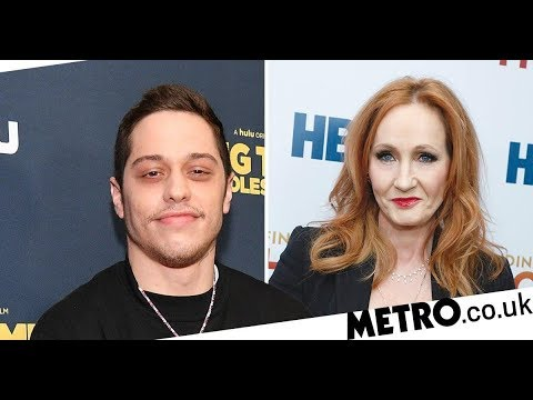 Pete Davidson tears into JK Rowling's trans comments on SNL