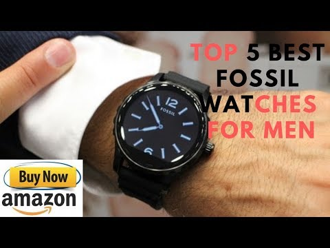 Top 5 Best Fossil Watches For Men Buy In 2019 Amazon