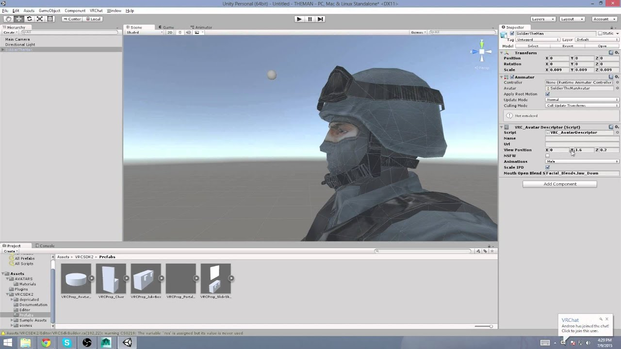 Tutorial: Make Hi-Res/Low-Poly VR Chat Avatars with MasterpieceVR