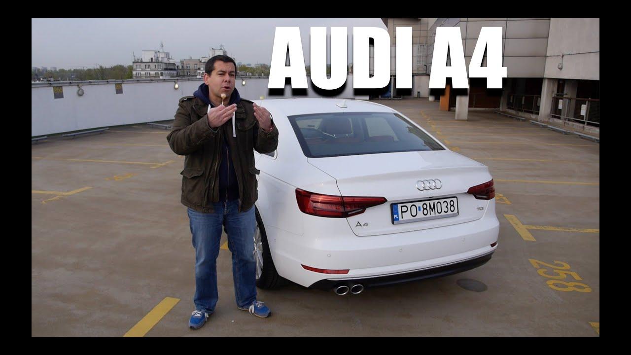 Audi A4 2016 (PL) - test i jazda próbna