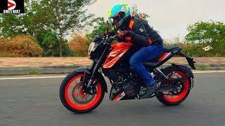 KTM Duke 125 ABS India First Ride Review Braking Test #Bikes@Dinos