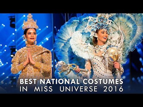 (HD) Top 6 Best National Costumes: Miss Universe 2017