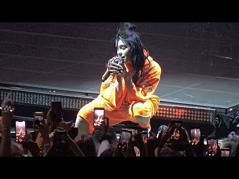 Billie Eilish, You Should See Me In A Crown (live), San Francisco, May 29, 2019 (4K)