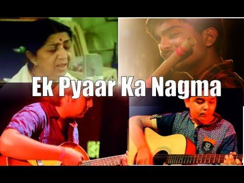 Very Soothing Flute Song | EK PYAAR KA NAGMA | Flute Cover | Lata Mangeshkar