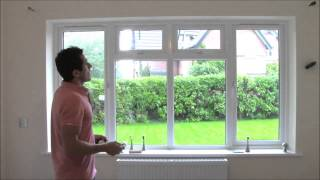 HOW TO FIT A METAL CURTAIN POLE
