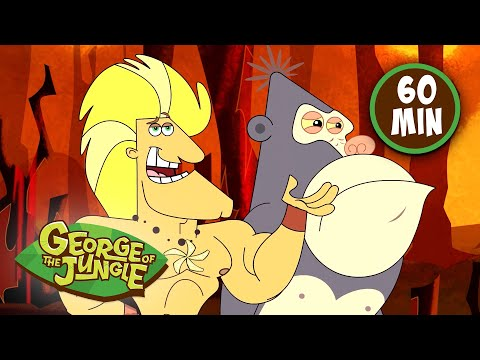 Heart of Gold   George of the Jungle   Compilation   Cartoons For Kids