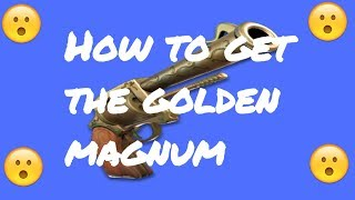 Fortnite: How to get the Golden Magnum