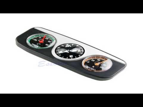 SODIALR Compass Dashboard Dash Mount Navigation Car Boat Truck Suction Blac