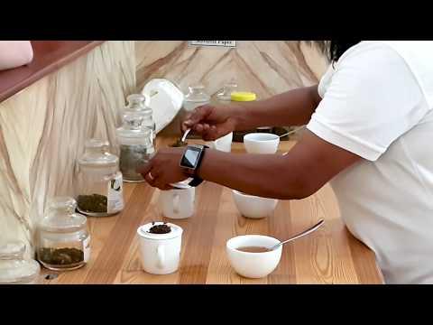 čajová farma na Cejlonu