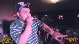 FlipTop - AD Beat vs Bigg X - Beatbox Battle