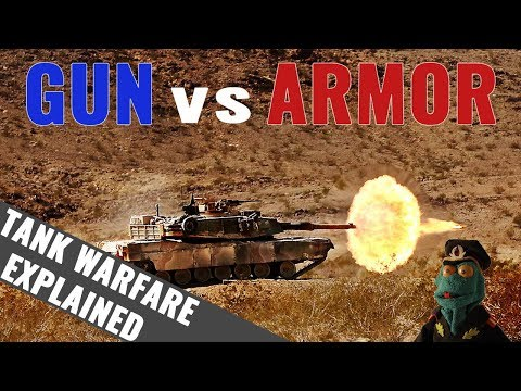 Tank Gun vs Armor: Tank Warfare Explained