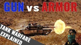 Tank Gun vs Armor: Tank Warfare Explained