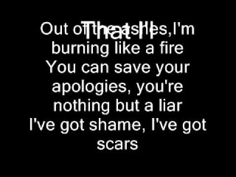 Demi Lovato- Warrior (Lyrics)