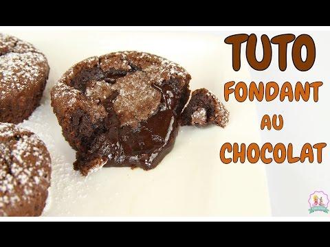 ♡•-recette-fondant-au-chocolat-coeur-coulant---rapide-et-facile-•♡