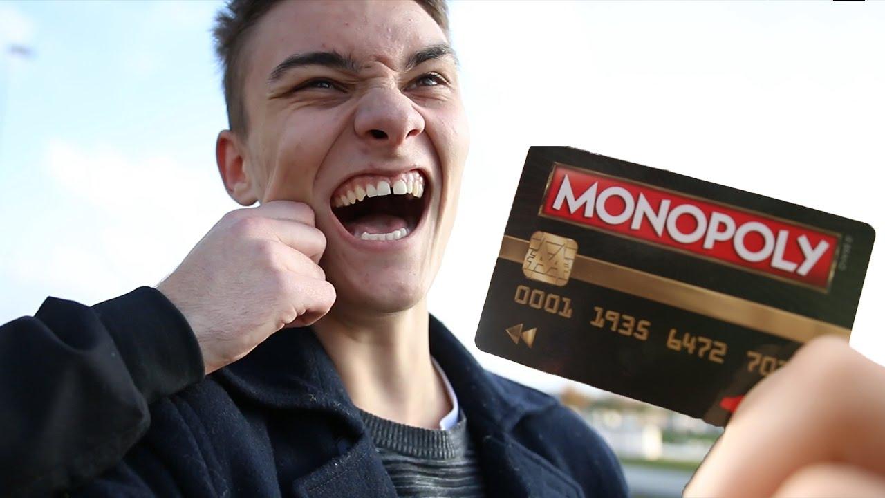 BRUGER SÅ MANGE PENGE JEG VIL - Monopoly i virkeligheden