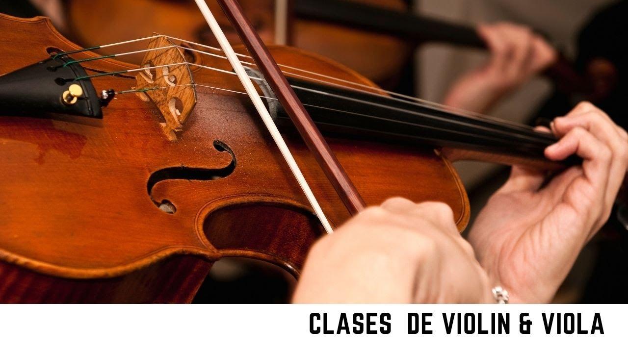 Bases de la postura del violin