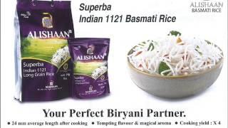 SUPERBA INDIAN 1121 BASMATI RICE ALISHAAN
