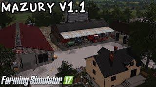 ️Prezentacja mapy - Mazury V1.1 #54 Farming Simulator 17