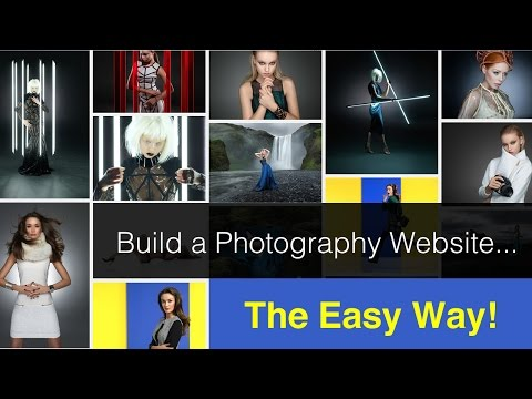 Building a photography website the easy way!